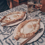 khachapuri in Georgia